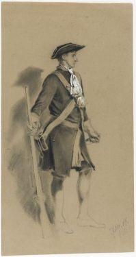 Museovirasto Sotilas 1700-luvun univormussa