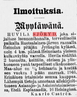 Heinolan Sanomat nro 3:1911